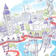 London Map Aw