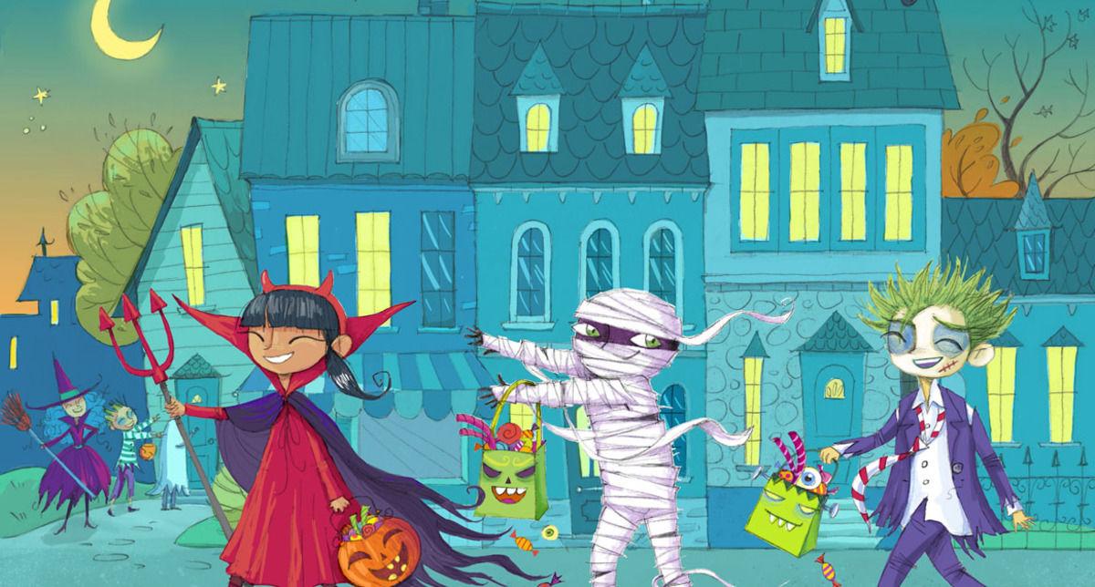 Casas Y Ni Os Halloween