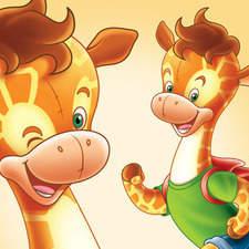 Giraffe Character Design