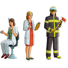 Various professions