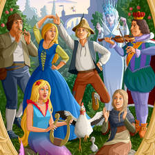 Various characters from Andersen's fairy tales