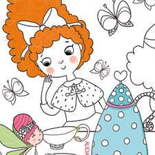 Princess Tea Time By Alicia Arlandis