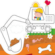 19 Digging Ponies
