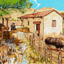 P.16 Farming Scene