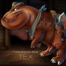 Tyrannosaurus Rex - Jurassic Gunslinger