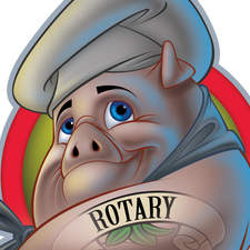 Chef Pig - Mascot for RibFest Moncton