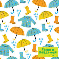 Rain weather pattern