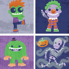 Halloween images for project