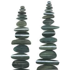Stone Stacks I Ilowres