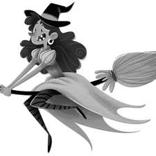 Inside Header Witch