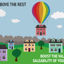 Property sales advert