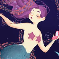 Mermaid Ad