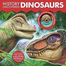 Book cover - History Uncovered: Dinosaurs