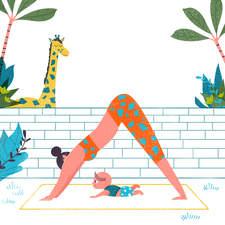 03 Giraffe And Baby 02b