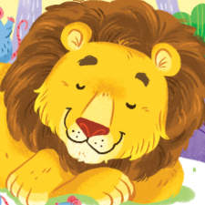 Educational Children's Book - The Lion and the Mouse