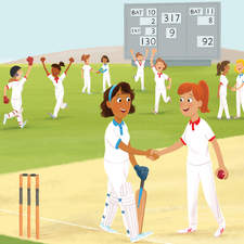 I am a Cricketer. Read it yourself with Ladybird