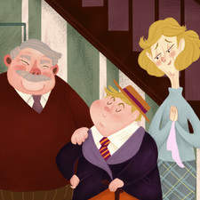 The Dursley Family - Harry Potter
