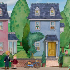 """Professor Widget's House from """"Bit-Bot and the Blob"""", written by Jo Litchfield and published by Egmont."""