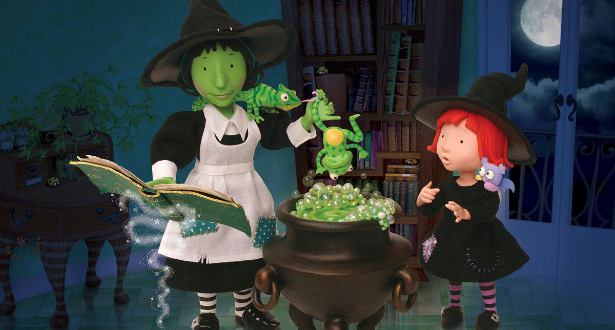 Witch Cauldron Room