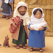 Scene from The Nativity, published by Usborne