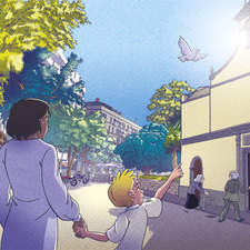 Kids Illustrations Children S Illustrations Catholic Illustration  Scene Illustration