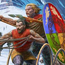 Winter chariot race