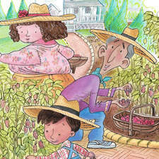Silas's Seven Grandparents by Anita Horrocks. Published by Orca Books