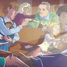 Children S Kids Illustrations Illustrations Catholic Illustration  Scene Illustration