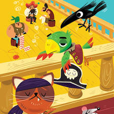Pirate Parrot and the Knit-wits -  Maverick Early Readers