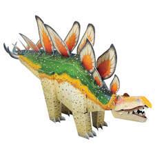 Paper model of a Stegosaurus