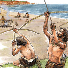 Stone age hunters