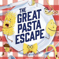 Cover illustration for The Great Pasta Escape.