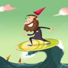 Surfing Gnomes Davidhurtado