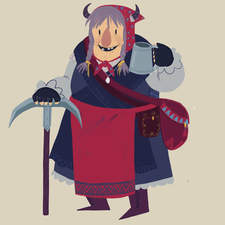 A character design for a personal project