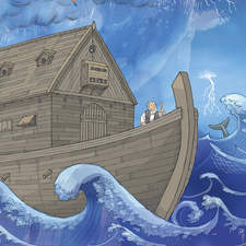 Noah's Ark illustration.