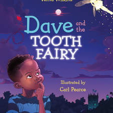 The cover to Verna Wilkins book, Dave And The Tooth Fairy from Studio Press, which I re-illustrated for it's 25th anniversary.