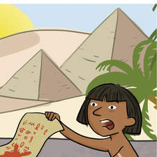 Little comic about an Egyptian legend