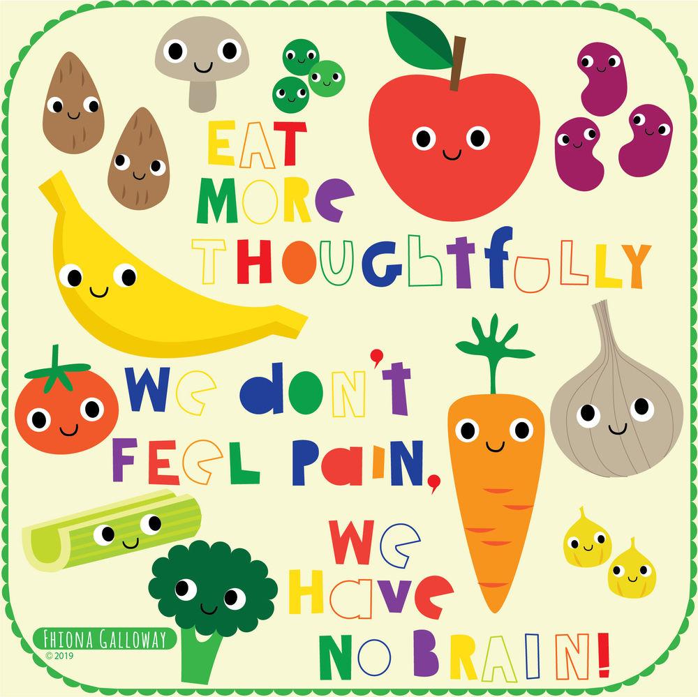 vegetables and fruit food illustration