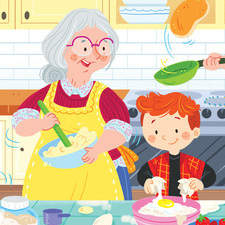 Educational Children's Book - Pancake Day
