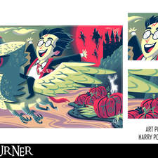 "An alternative fan-art poster to the film ""Harry Potter and the Prisoner of Azkaban"""