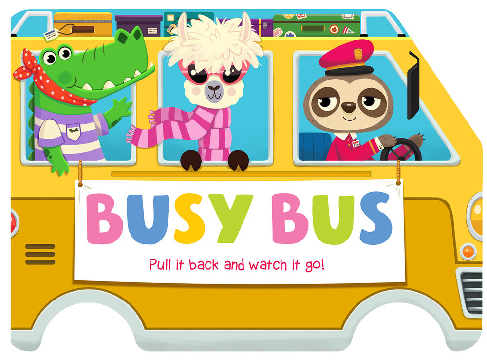 Busy Bus cover for IglooBooks