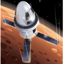 Tourist trip to Mars