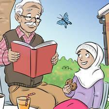 Girl and Grandad