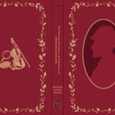Sherlock front cover design for the Folio Society competition (2018)