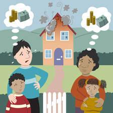 Digital illustration for an insurance institute