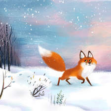 Fox in Winter - personal piece
