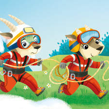 Jeux des Familles, Pompiers - card deck for Lito Ed.
