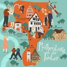 Rothenburg ob der Tauber map