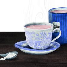 Teacups Scene