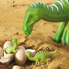 Hadrosaur from Usborne's First Dinosaurs
